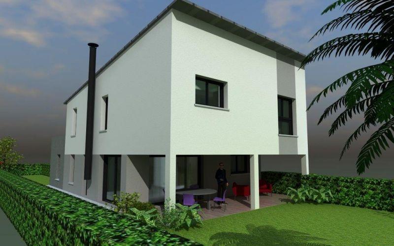 maison contemporaine toit zinc | Architecture | Pinterest | Architecture