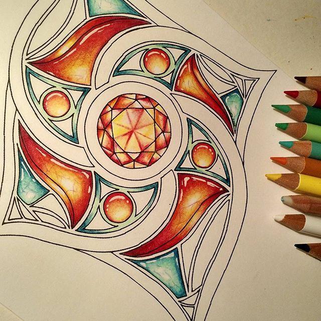 #coloracreation #zengems #gemstones #vitruvianart