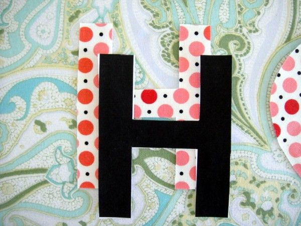 DIY No-Sew Bunting | The Sweetest Occasion