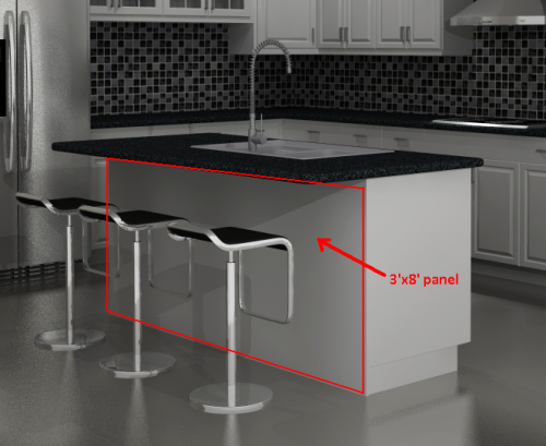 Did You Know Three Different Uses For Ikea Panels Ikea Kitchen Design Kitchen Design Ikea Kitchen