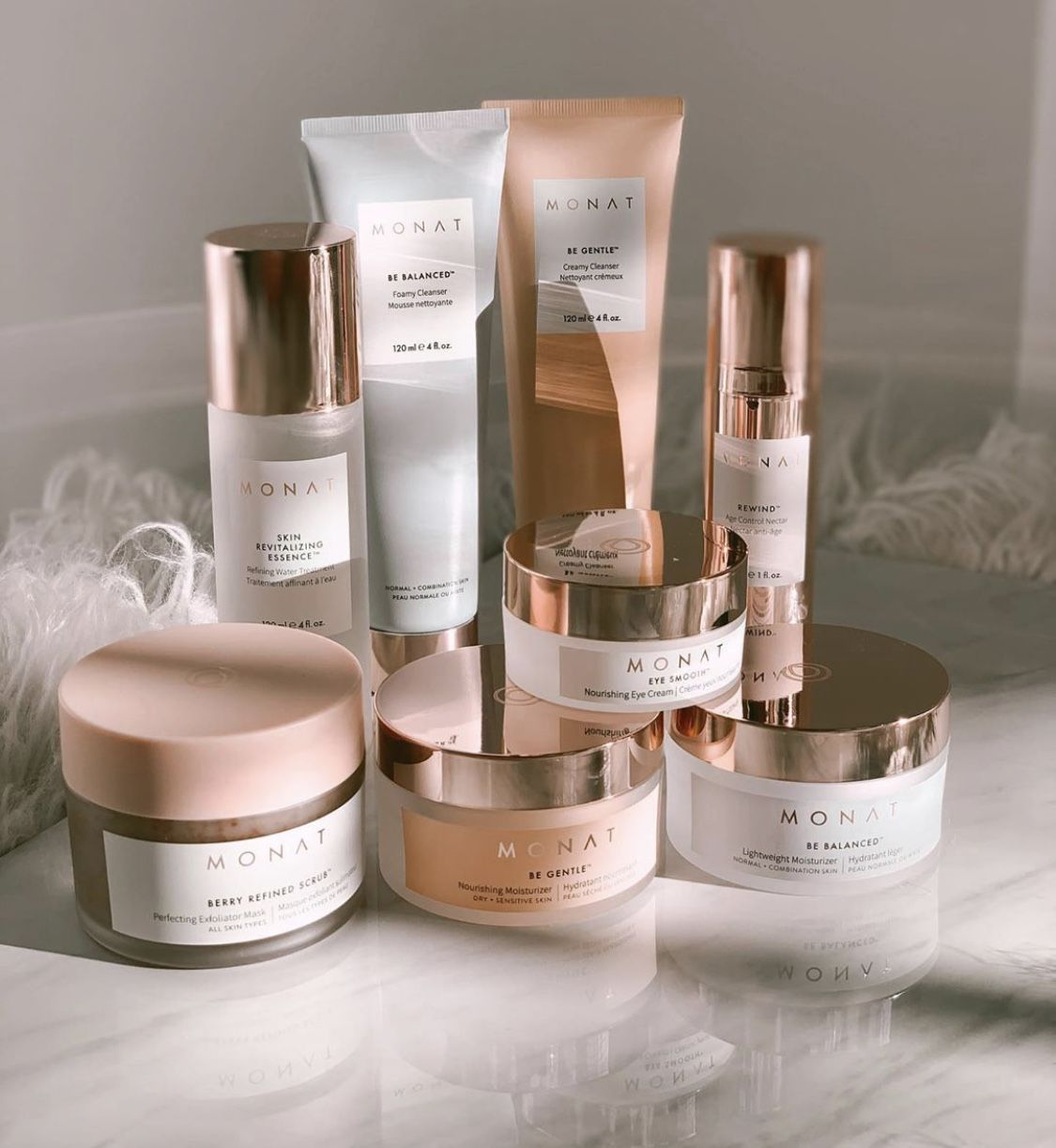 Monat Skincare Line Monat hair, Skin care, Monat