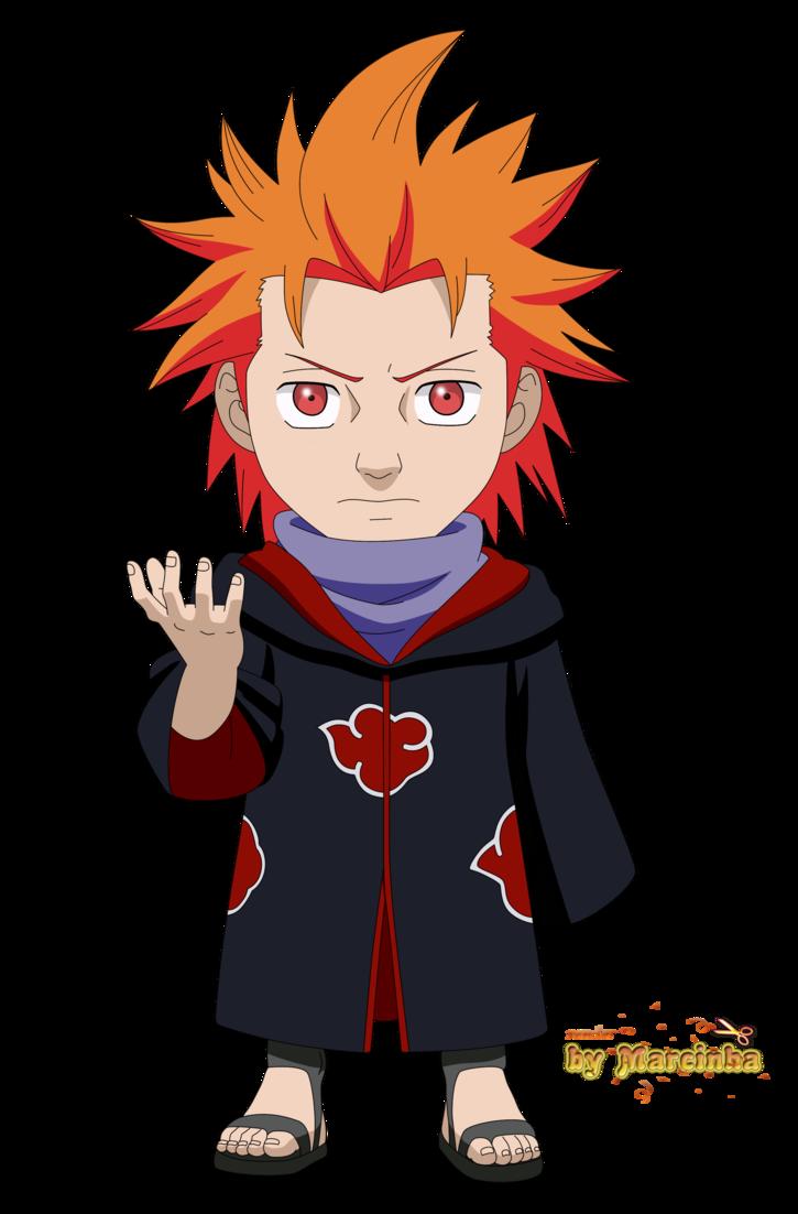 Chibi Juugo Akatsuki By Marcinha20 Anime Chibi Chibi Naruto Cute