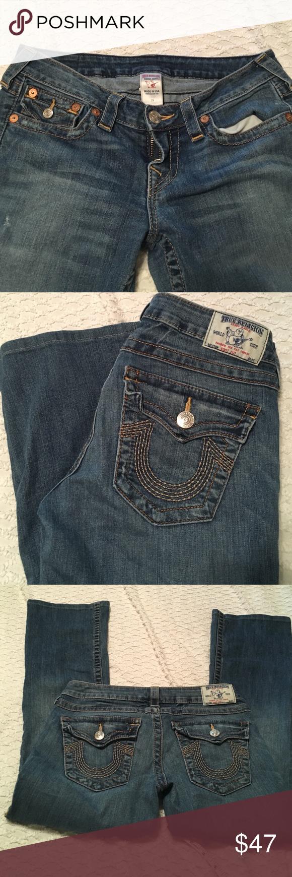 True religion jeans boot cut True religion jeans boot cut size 29 inseams 28 no wear or  tear True Religion Jeans Boot Cut