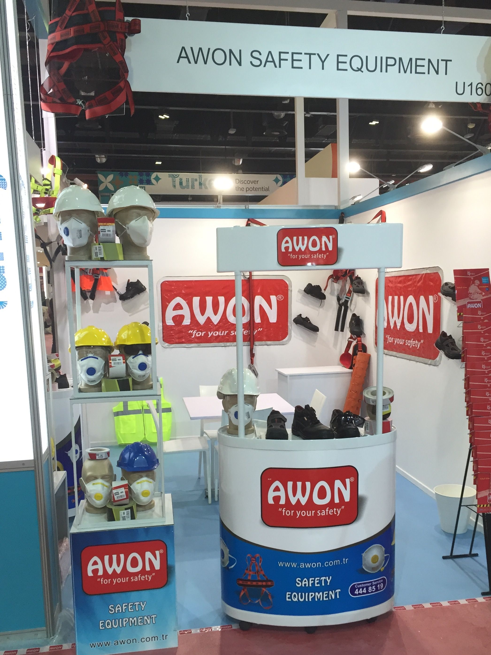 Awon iş güvenlik ürünleri san tic AŞ panosundaki Pin