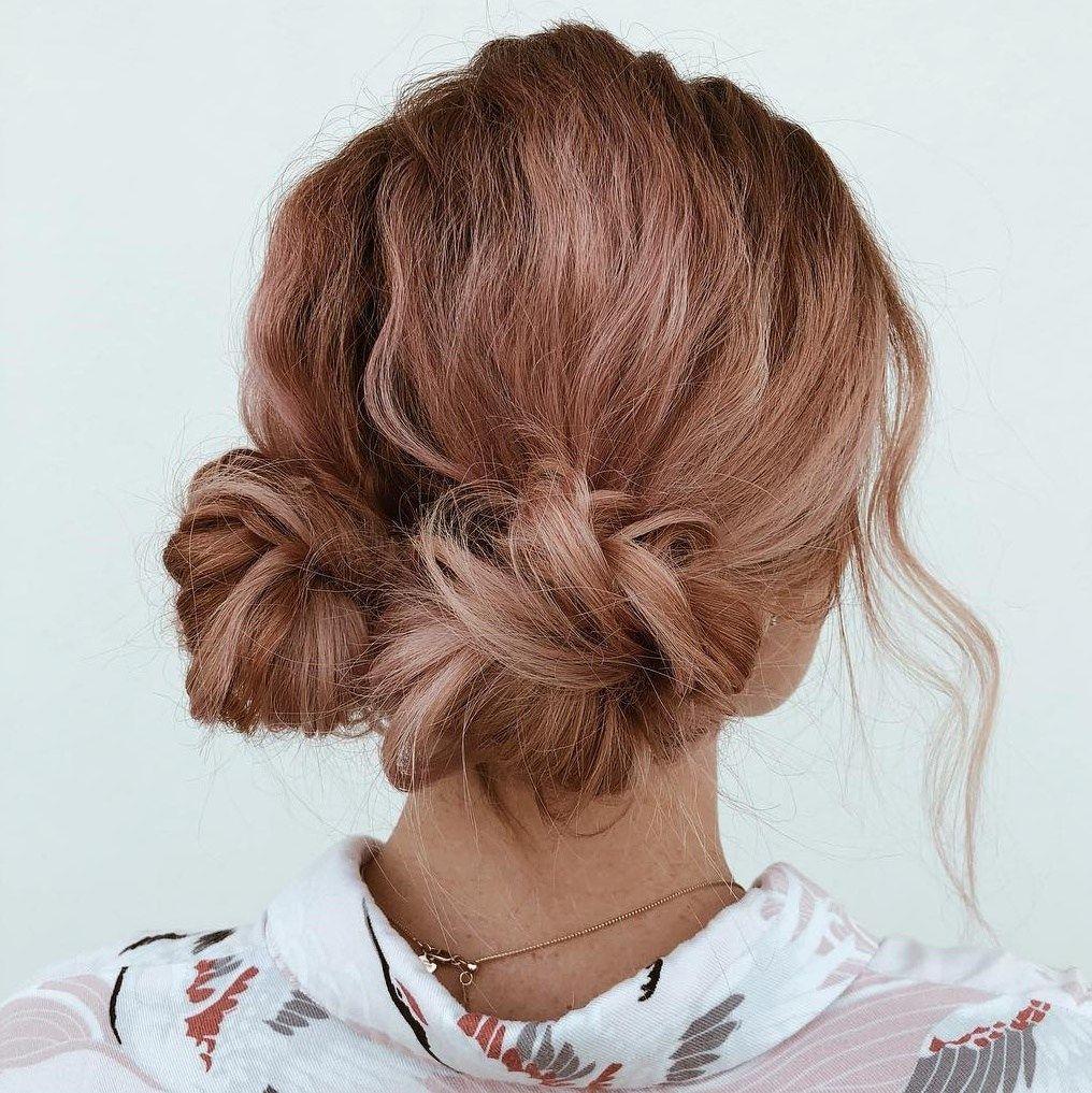 50 Wonderful Updos for Medium Hair to Inspire New Looks – Hair Adviser