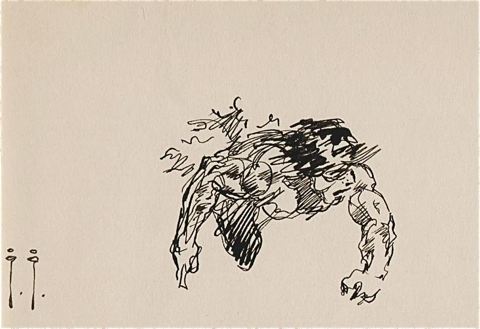 Sketch by Frank Frazetta | Frazetta | Pinterest