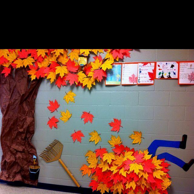 autumn classroom decorations