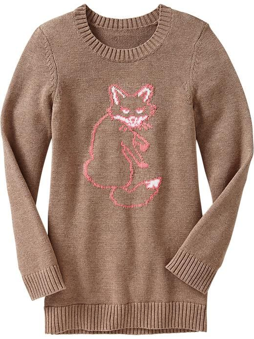 Old Navy | Girls Animal-Graphic Sweaters
