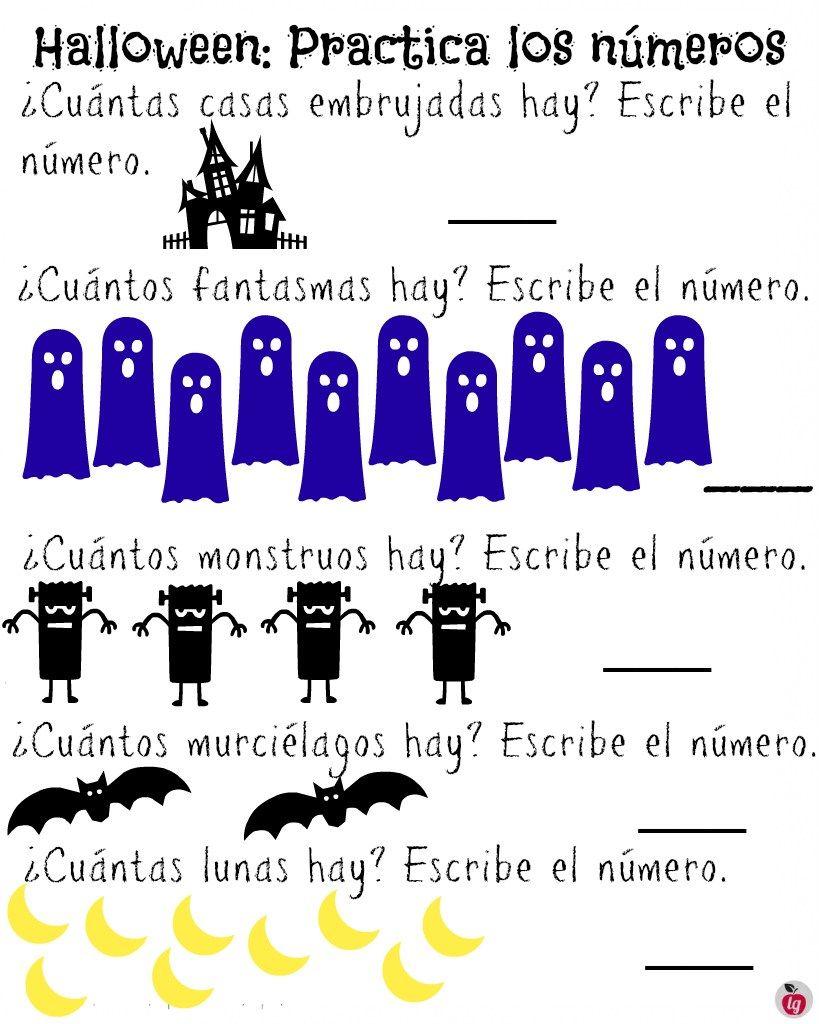 Raising Bilingual Kids Free Halloween Printables In Spanish Bilingual Children Halloween Spanish Halloween Vocabulary [ 1024 x 819 Pixel ]