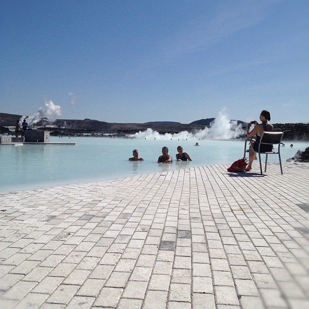 What a perfect day at the Blue Lagoon