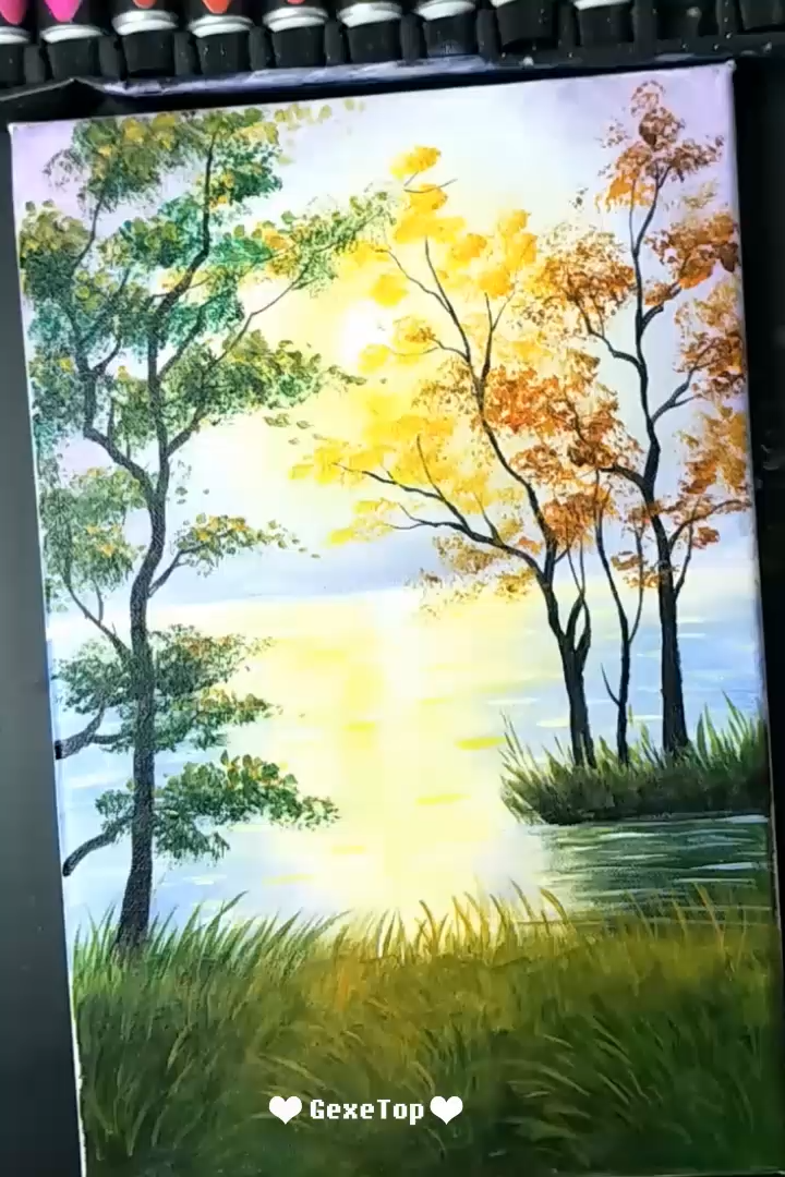 Photo of 10 Awesome Acrylic Painting For Home Decor – Painting Tutorial Videos | Part 1