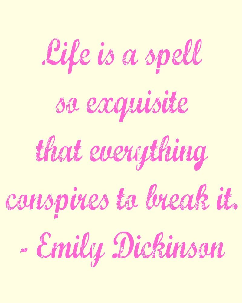 Inspirational Quotes About Failure: Free Printable Quote - Emily Dickinson.