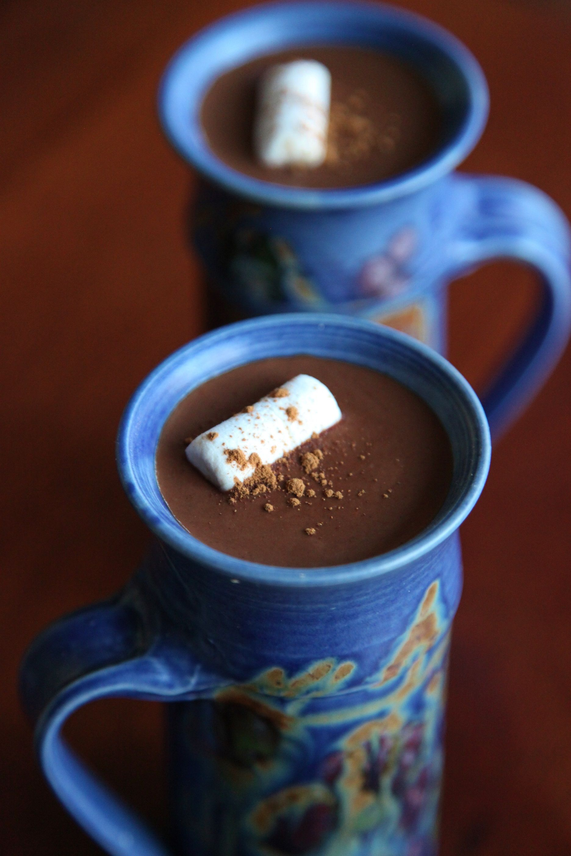 Spiced Hot Chocolate - Little Vegan Bear