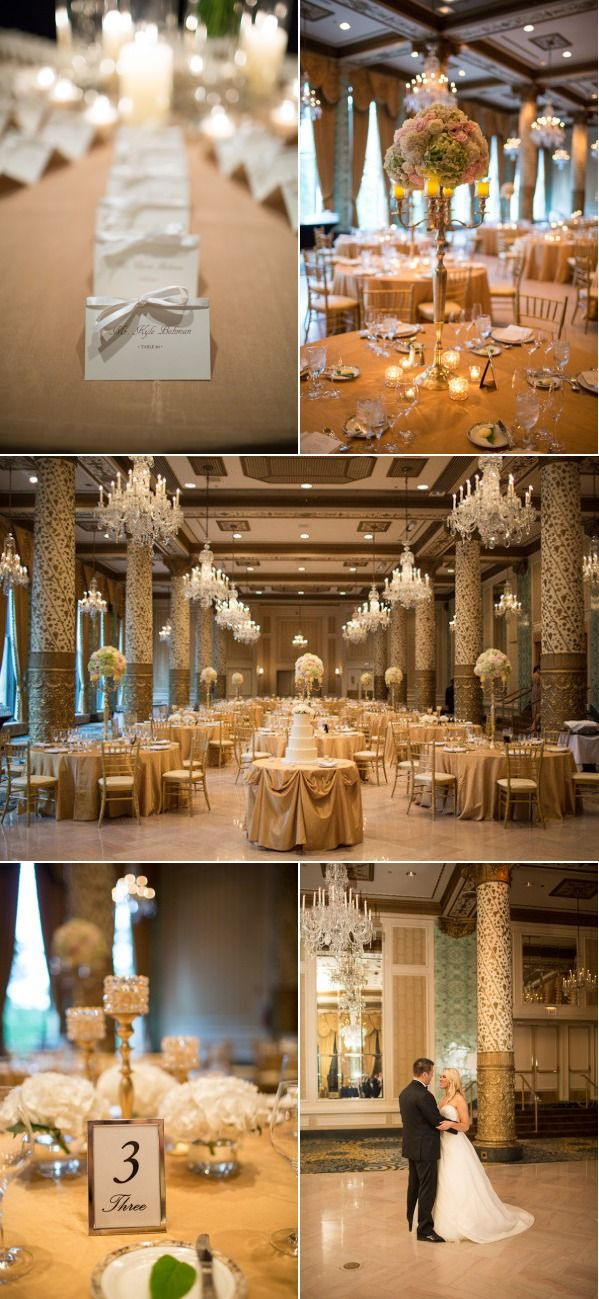 Chicago wedding at the drake hotel from emilia jane for Drake hotel decor