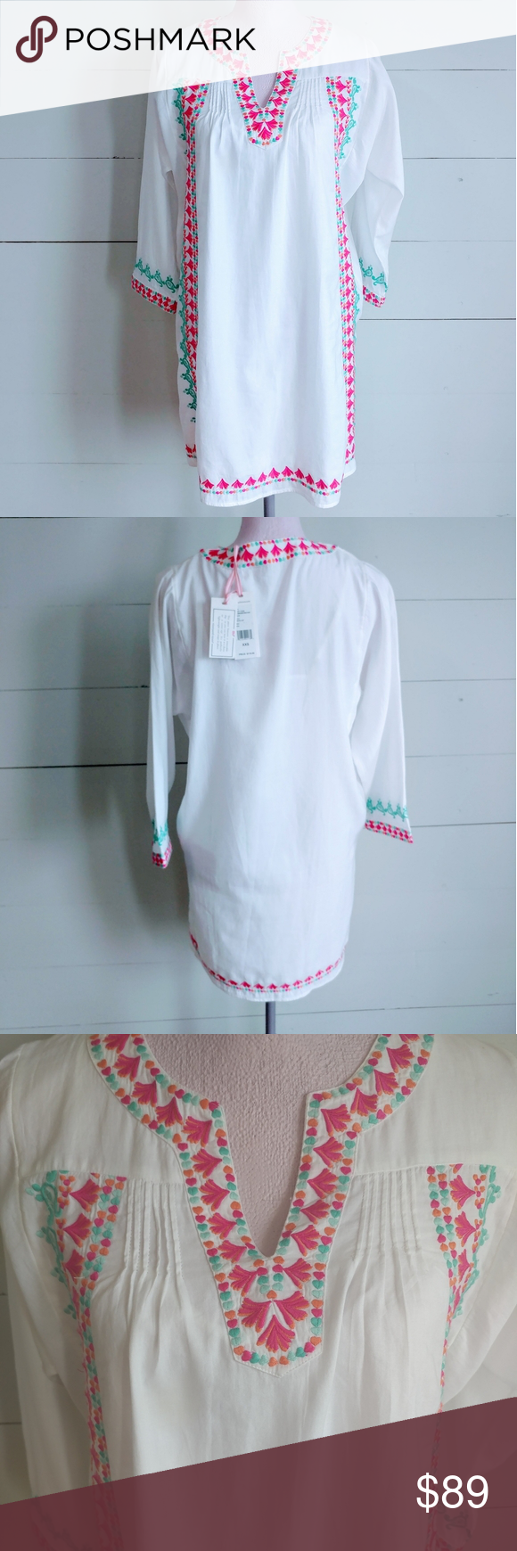 Vineyard Vines Embroidered Dress Embroidered Dress Vineyard Vines White Dress Dresses [ 1740 x 580 Pixel ]