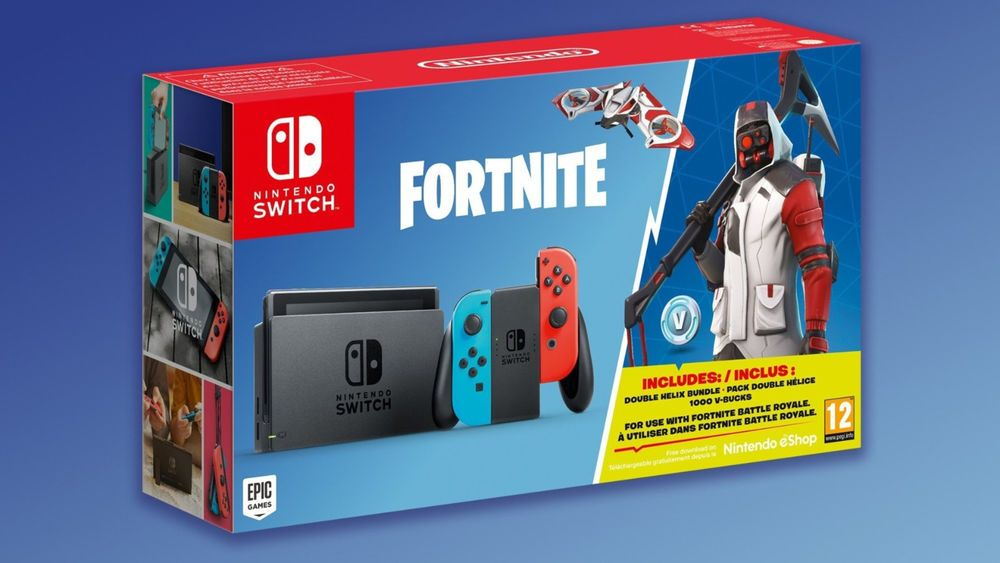 nintendo switch fortnite double helix console bundle fortnite fortnitebattleroyale game - newstime fortnite