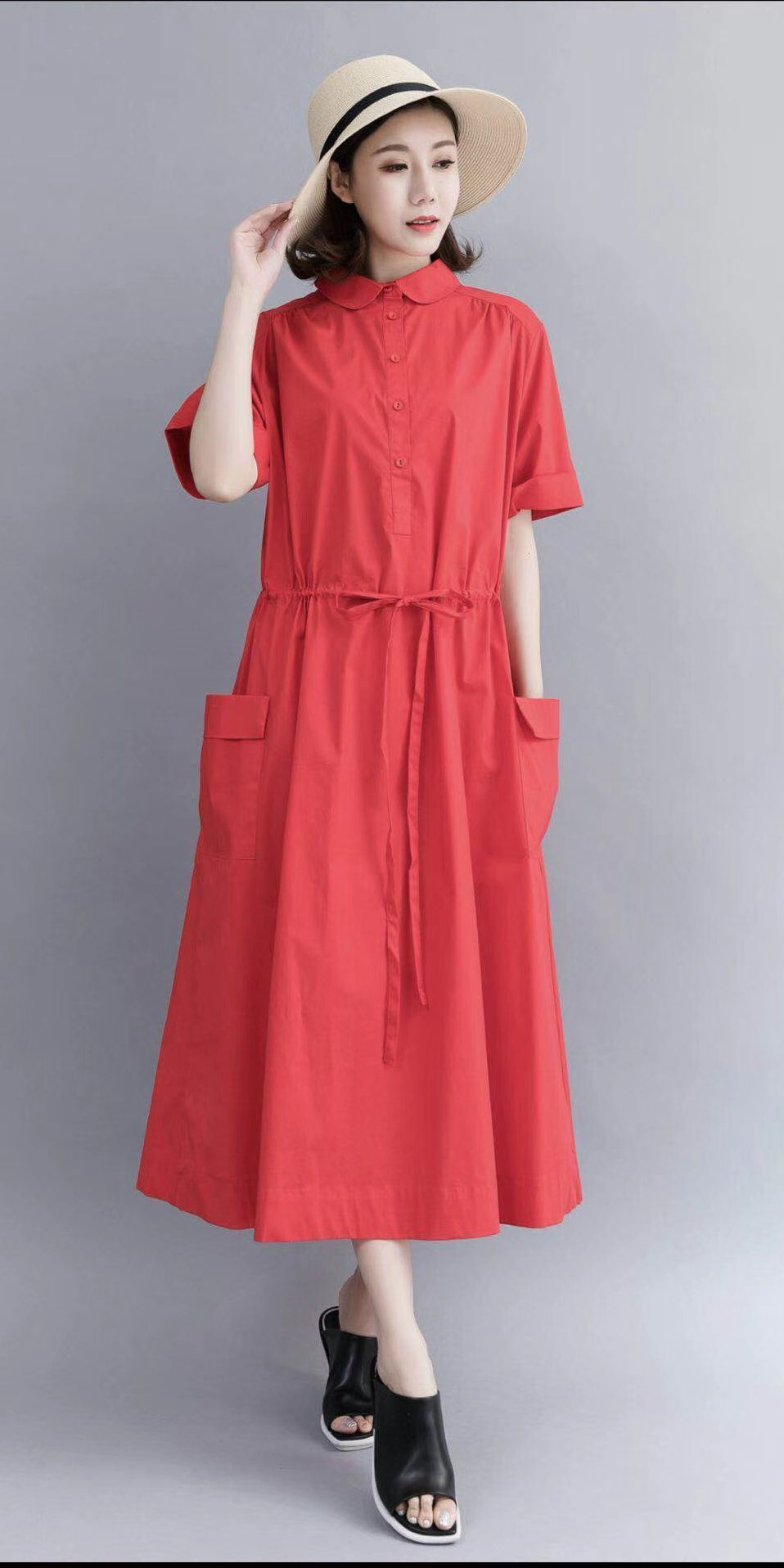 ab8a175d8f0 Casual Cotton Maxi Dresses For Women 712