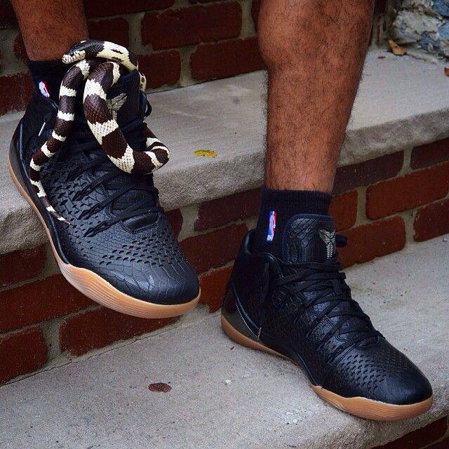 Nike Kobe 9 Mid EXT. Snake sold separately. Via @abehomy