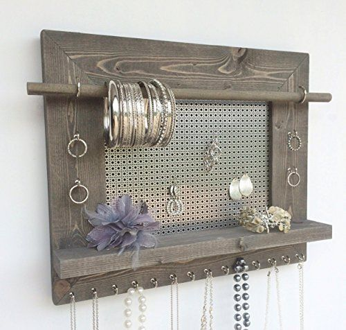 Bathroom Organization   9 Easy DIY Projects Anyone Can Do. Hanging Jewelry  ...