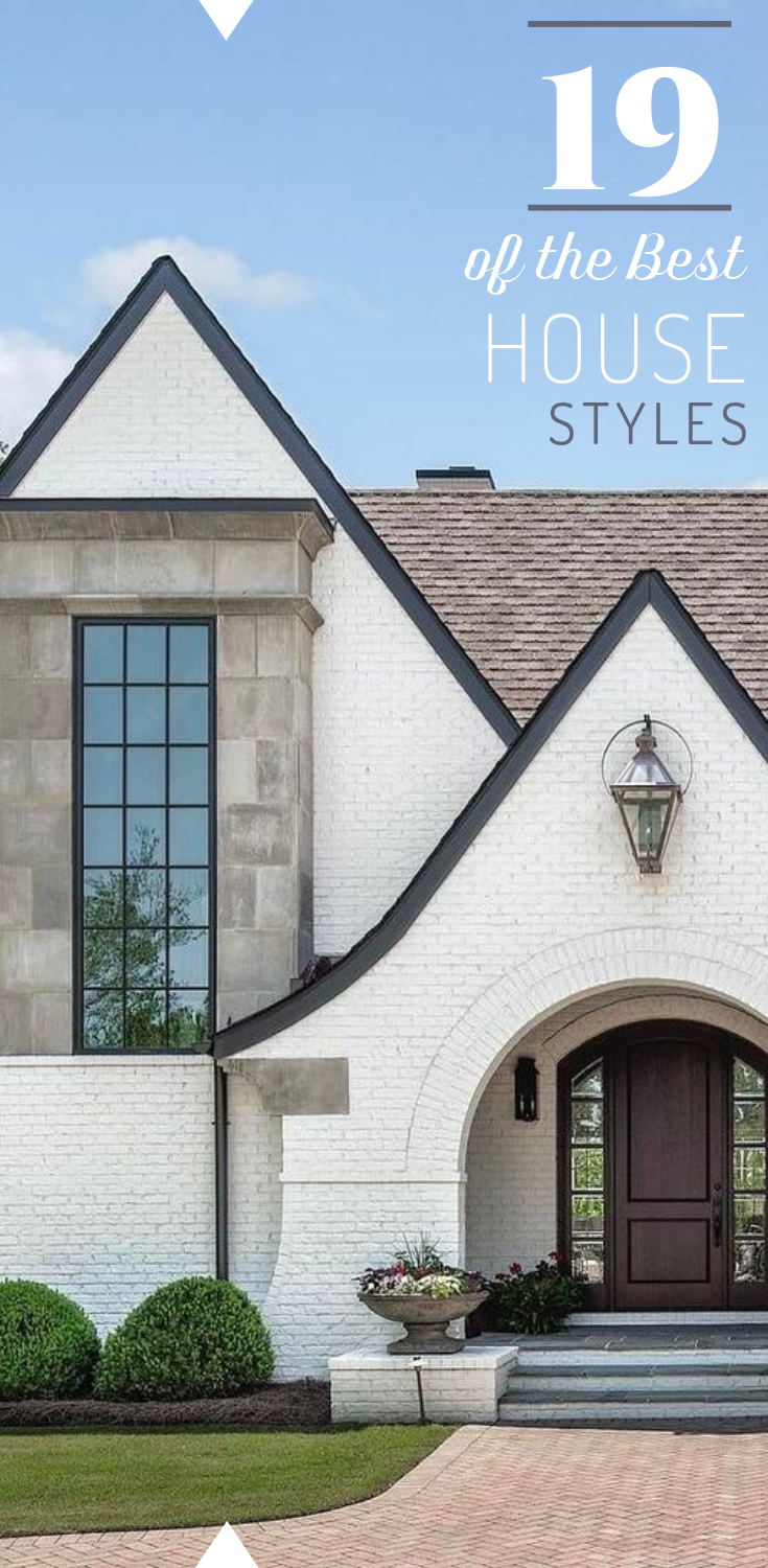 A Complete Guide To Finding Your House Style Down Leah S Lane House Styles Types Of Houses Styles Brick Exterior House