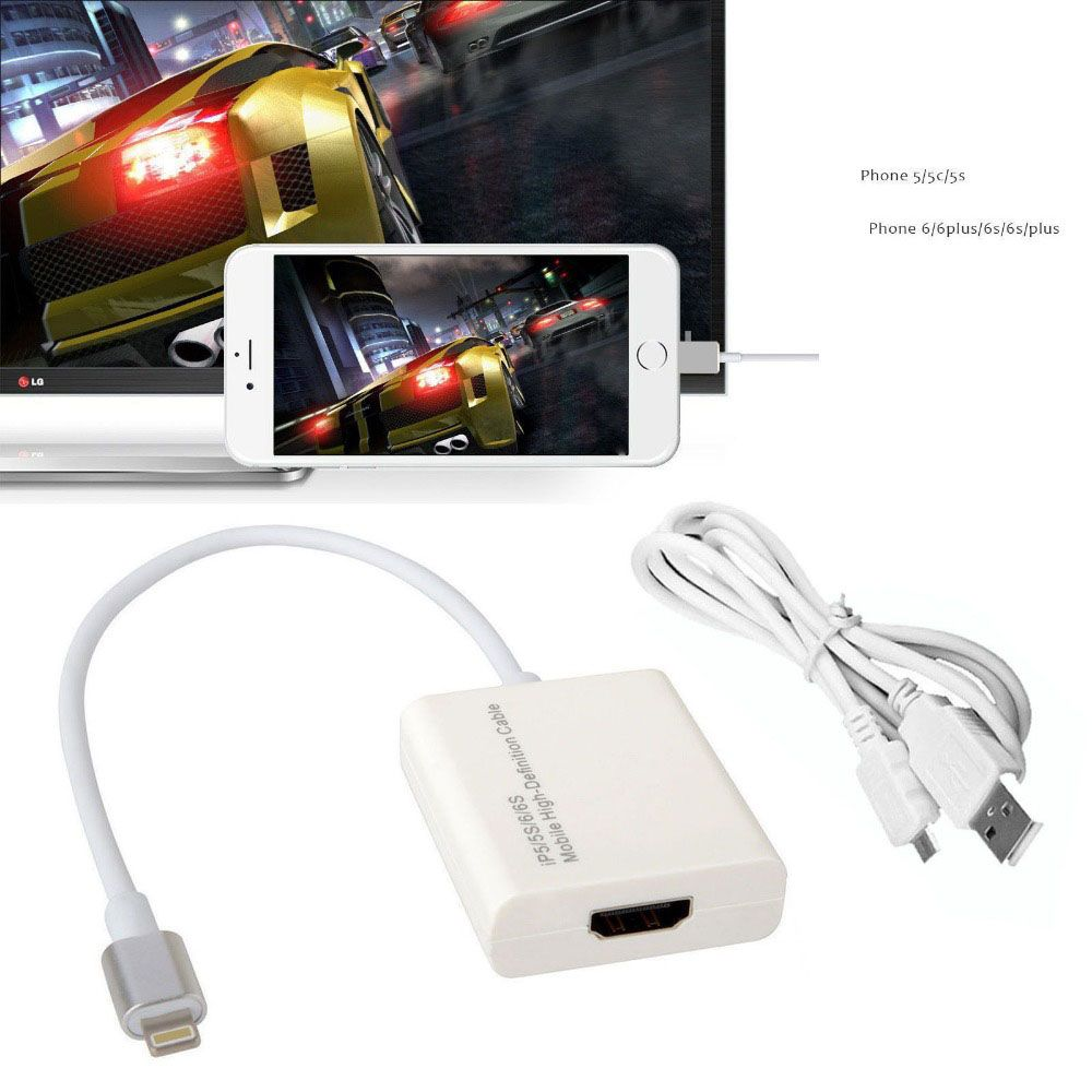 new concept ee8c7 38cfb Click Image to buy>Dock HDMI Adapter for iPhone 6 6S Plus 7 8 plus x ...