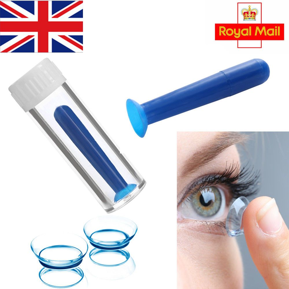 Contact Lens Inserter Remover Soft Tip Case Hygienic Daily Use Uk Seller Contact Lenses Contact Lenses Tips Lens