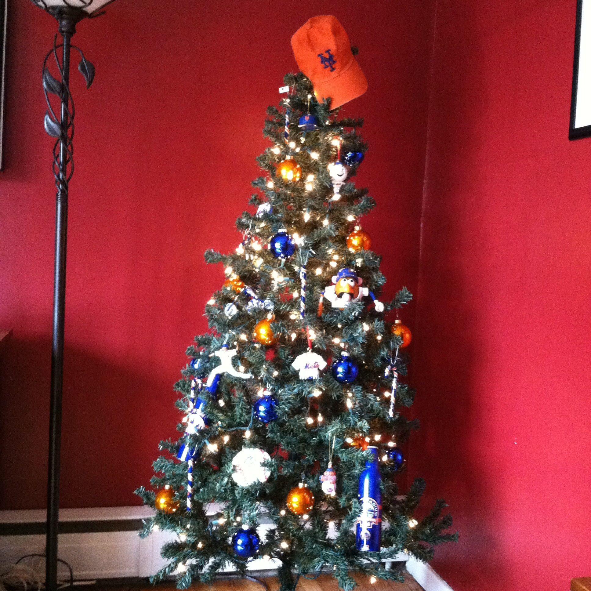 New York Mets Christmas Tree | Baseball | Pinterest | Christmas tree