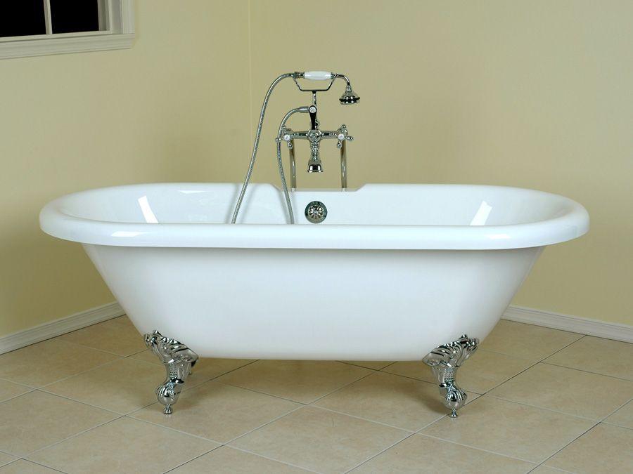 Stand alone footed tub | home decor | Pinterest | Tubs