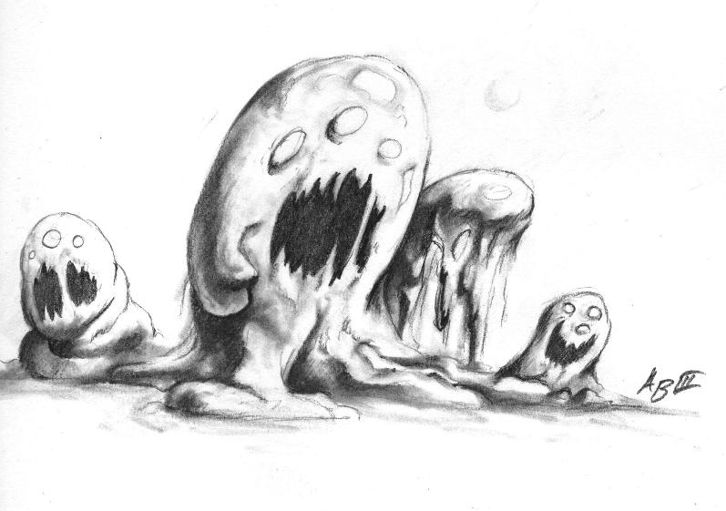 Slime Basic Mob - By Arthur Bowling