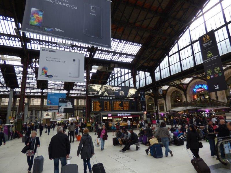Paris Gare de Lyon concourse