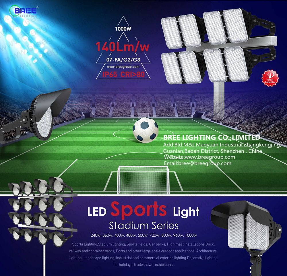 1000w led stadium lights