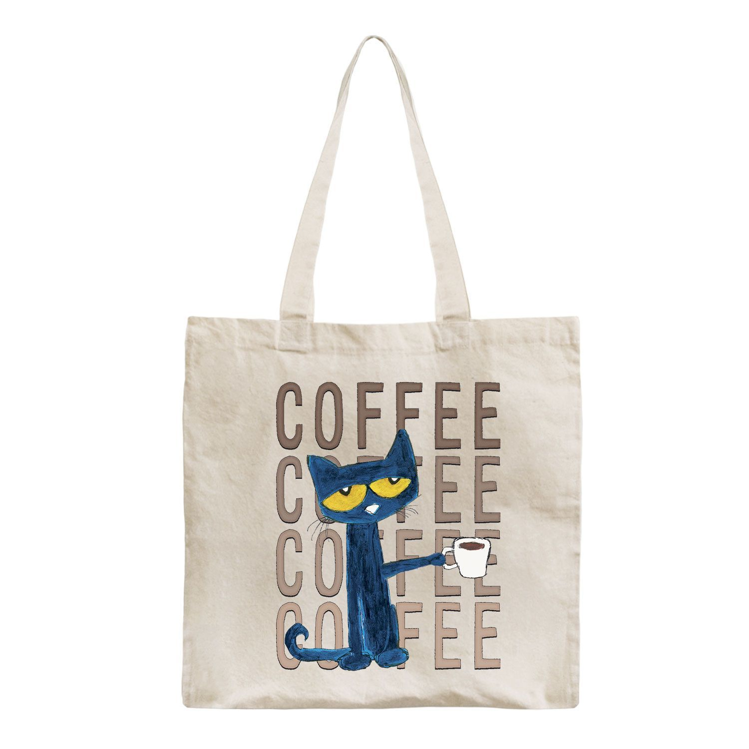 Pete The Cat Pete With Coffee La S Tote