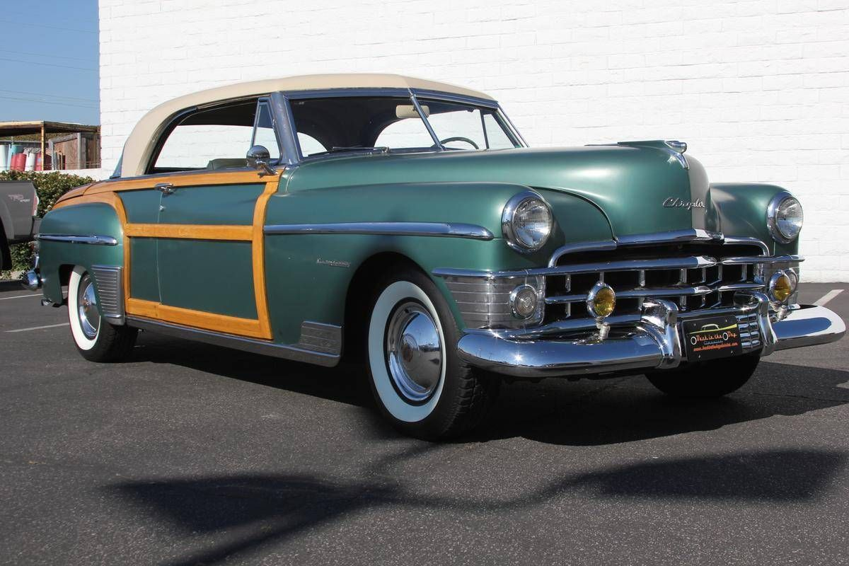 1950 Chrysler Town & Country for Sale | old cars | Pinterest ...