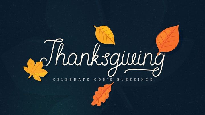 Thanksgiving Leaves Around Cmg Template Church Motion Graphics