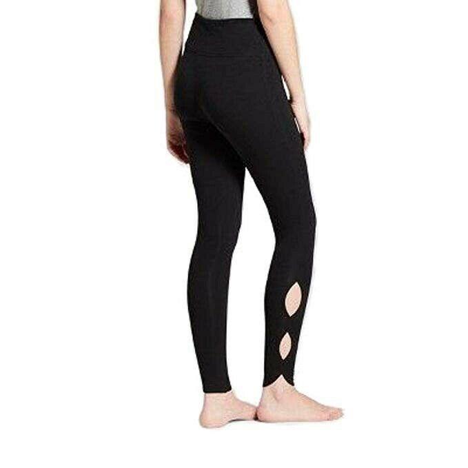 c07ebbda62d1f Mossimo Supply Co women's High Waist Leggings (Flat Waist -Cutout) - Black  - L #fashion #clothing #shoes #accessories #womensclothing #leggings (ebay  link)