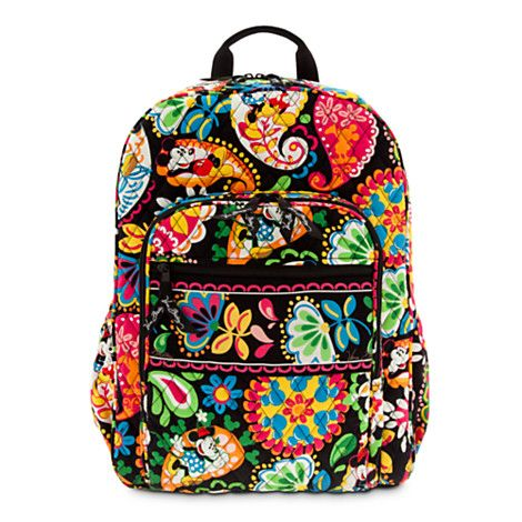 6180d9a584d9 Vera Bradley Disney Mickey and Minnie Campus Bookbag! Love this backpack  style and the Disney touch makes it even cuter