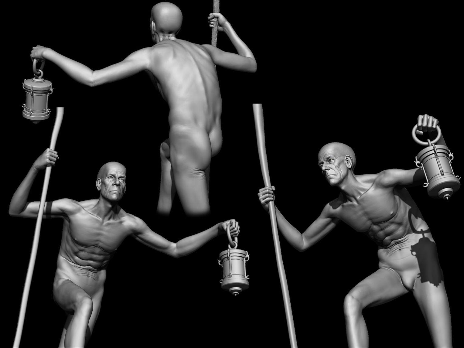 old man anatomy....! | My art works | Pinterest | Man anatomy and ...