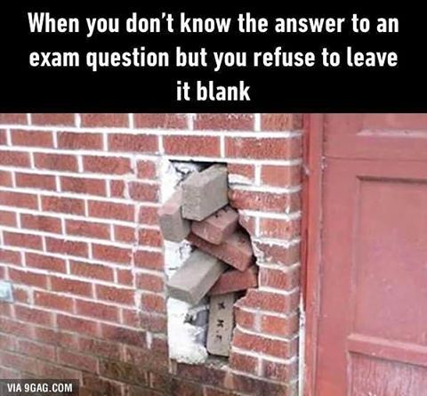 Instagram Photo By 9gag Jul 2 2016 At 7 04pm Utc Exams Memes This Or That Questions Funny Pictures