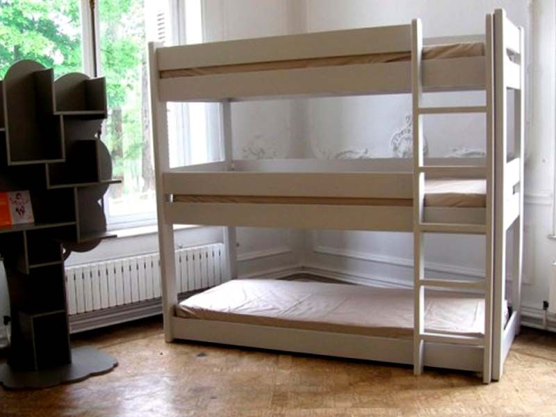 L Shaped Triple Bunk Beds For Small Rooms Hdwallpicx Com Bunk Beds Triple Bunk Bed Modern Bunk Beds