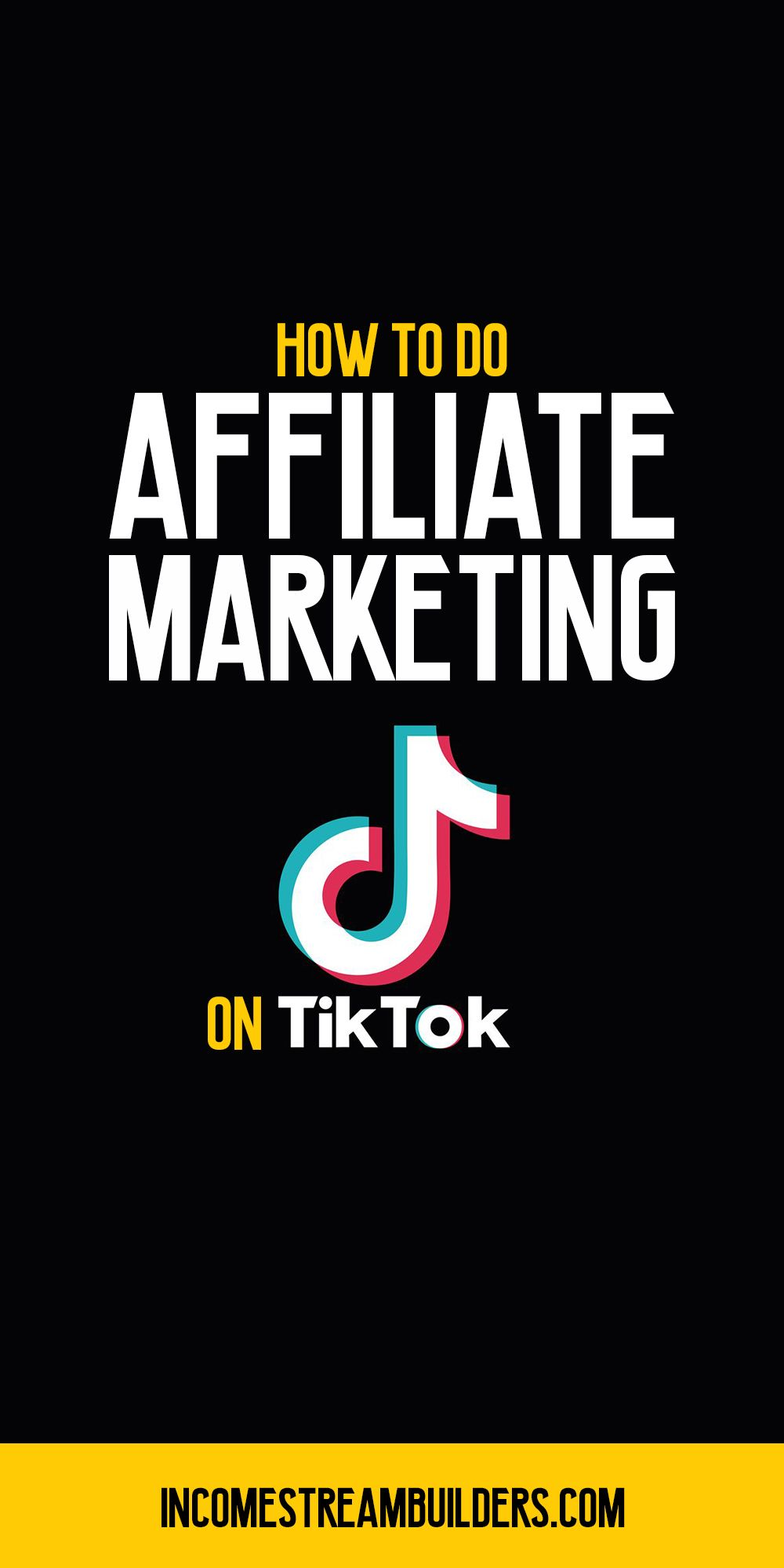 How To Do Affiliate Marketing On Tiktok Real Examples Disclosed Legitimate Online Jobs Affiliate Marketing Pinterest Marketing
