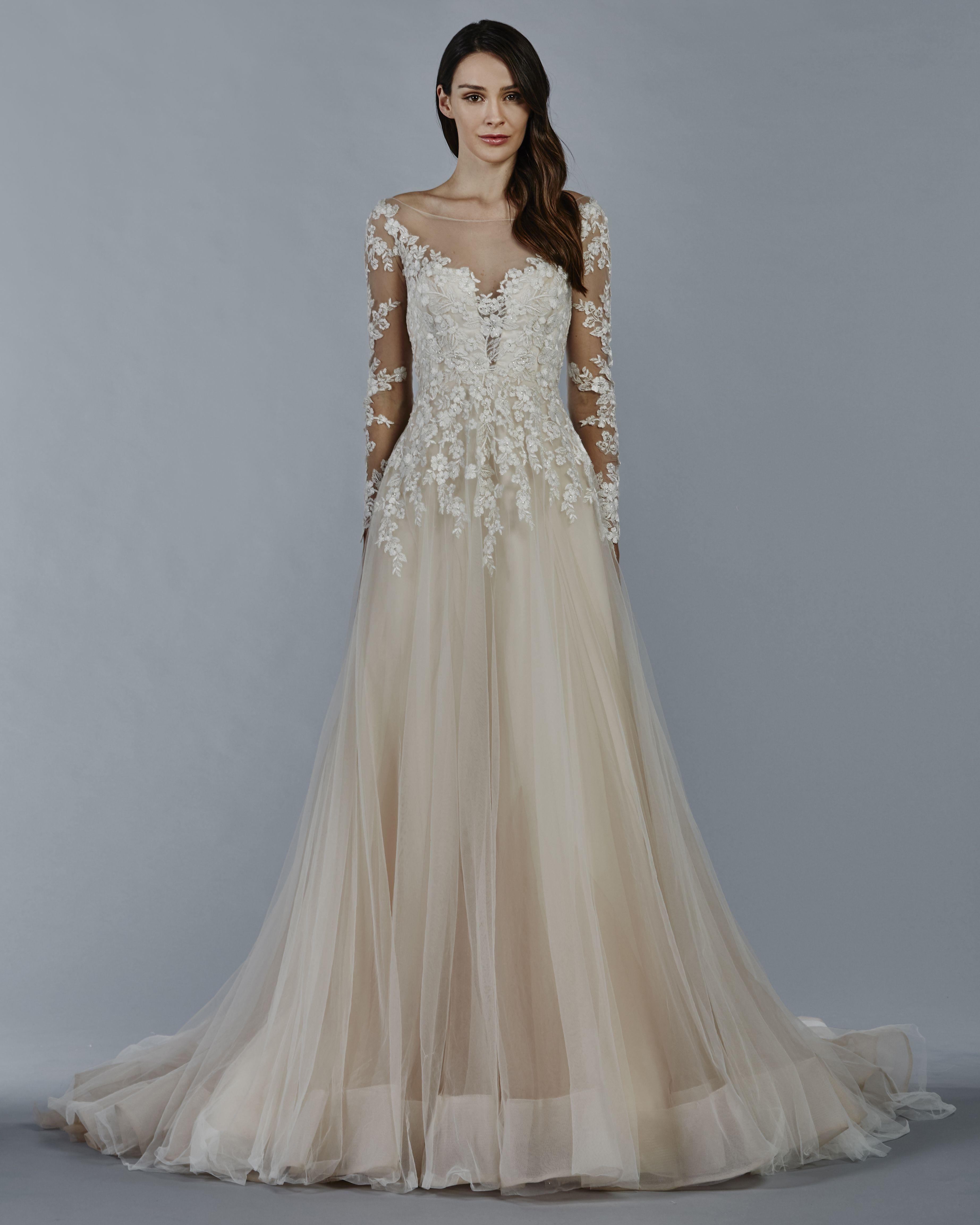 Kelly faetanini herbst braut kollektion horsehair ball gowns