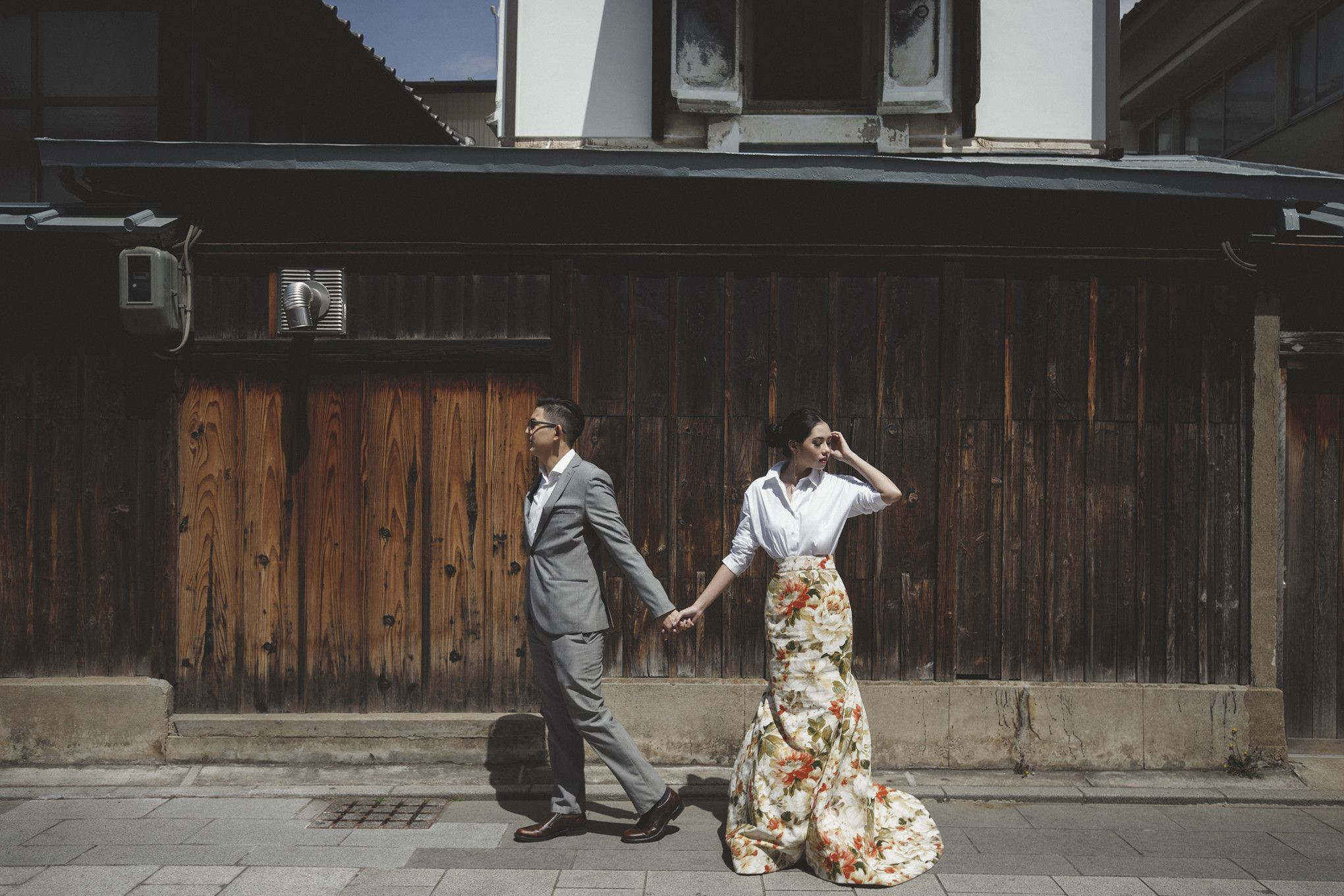 Olivia Lazuardy And Kalvin's Pre-Wedding Shoot In Japan - 001