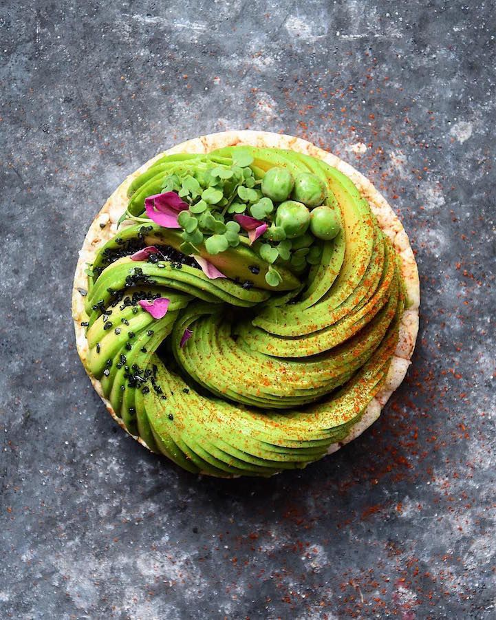 Food blogger Colette Dike (aka @fooddeco) transforms avocados into edible masterpieces.