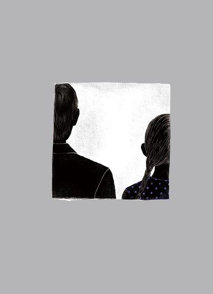 digital, 2010  Illustration for the novel A Biggest Fire, Ever Seen Cen Jun