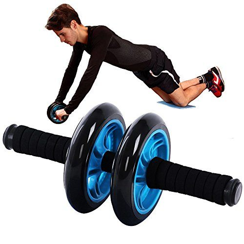 Go Ab Wheel Superb Dual Ab Roller Wheel With Knee Pad For All Fitness Levels Core Workout Abdominal Exercise To Stre Ab Roller Ab Wheel Abdominal Exercises