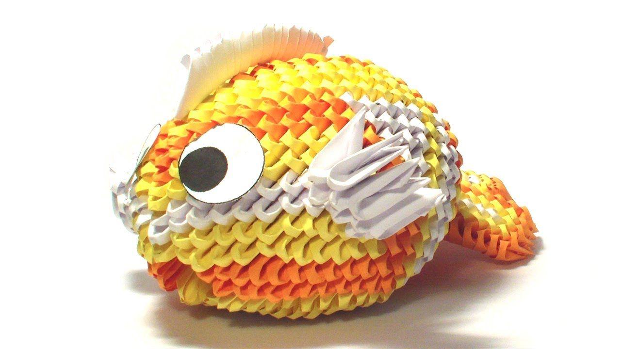Photo of 3D origami koi fish tutorial (remake)