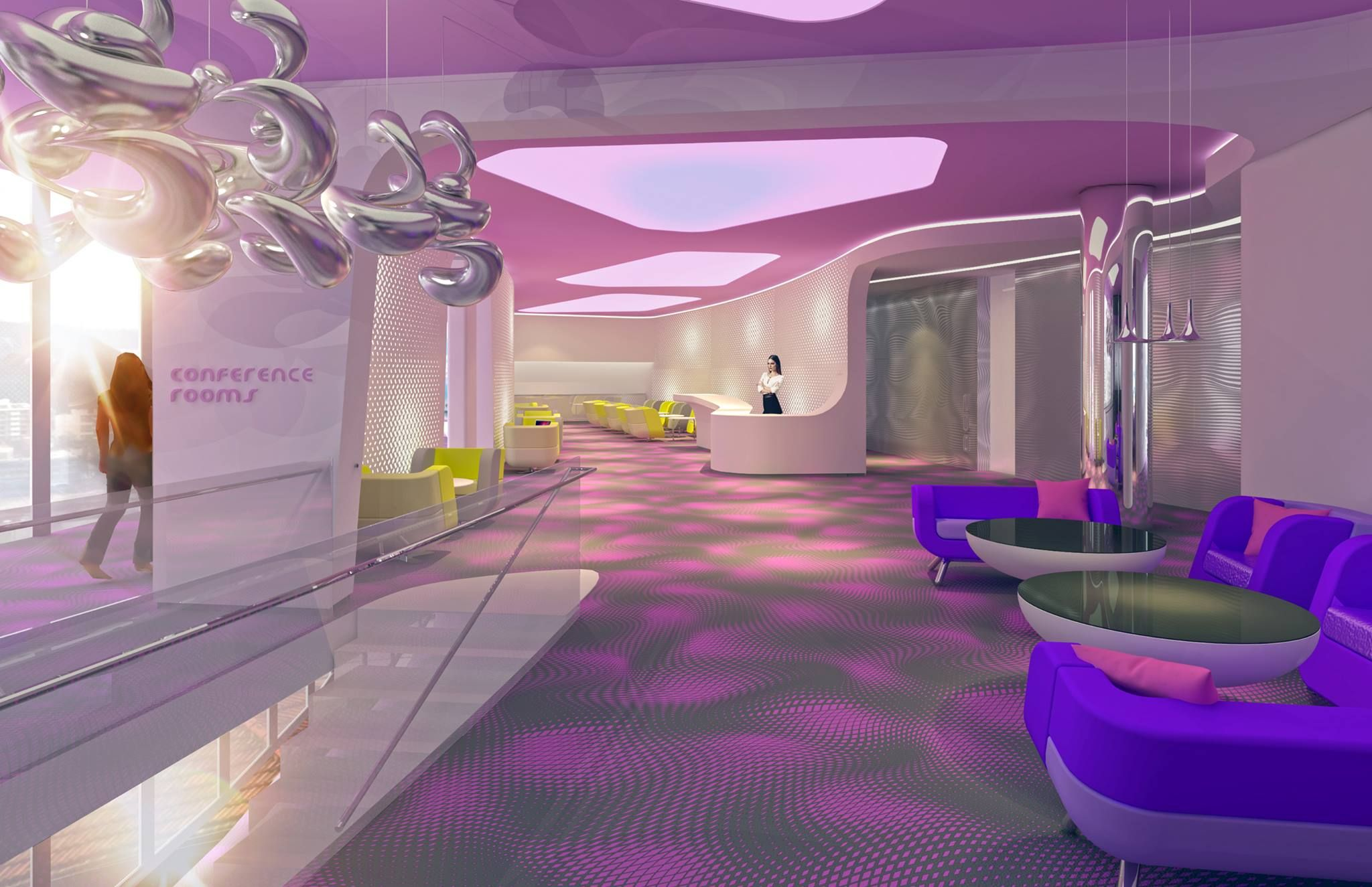 Ven hotel in amsterdam tbc 2017 by karim rashid karim for Hotel barbie