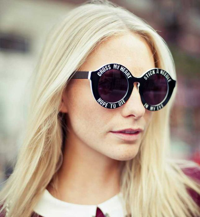 How cool are these sunglasses?