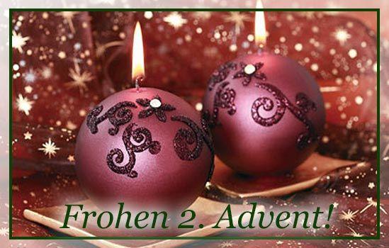 Frohen 2 Advent Bilder Free Ecards Grusskarten Reime