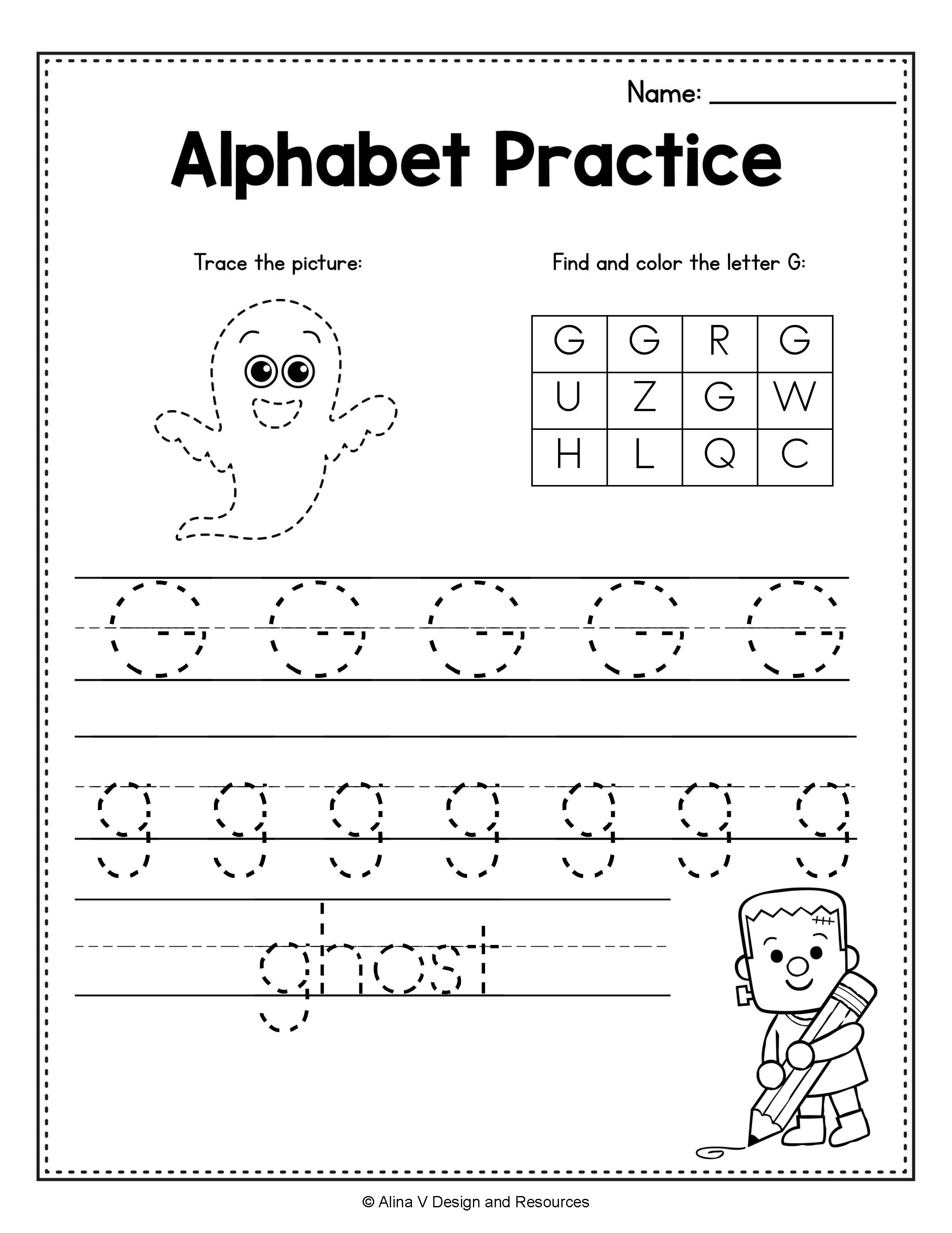 Letter G Worksheet Free Worksheets For Preschool And Kindergarten In 2020 Alphabet Writing Practice Preschool Worksheets Writing Practice